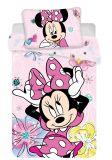 Dětské povlečení do postýlky Minnie Butterfly 02 baby | 1x 135/100, 1x 60/40