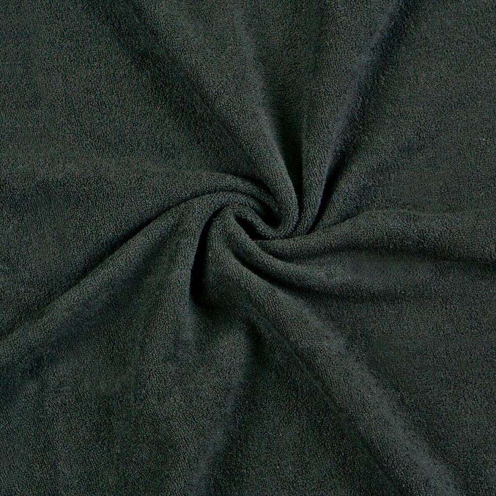 Kvalitní froté prostěradlo černé Kvalitex