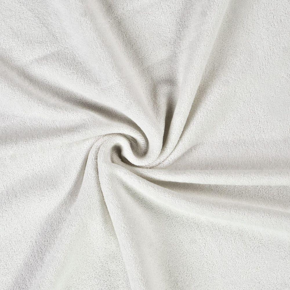 Kvalitní napínací froté prostěradlo bílé Kvalitex