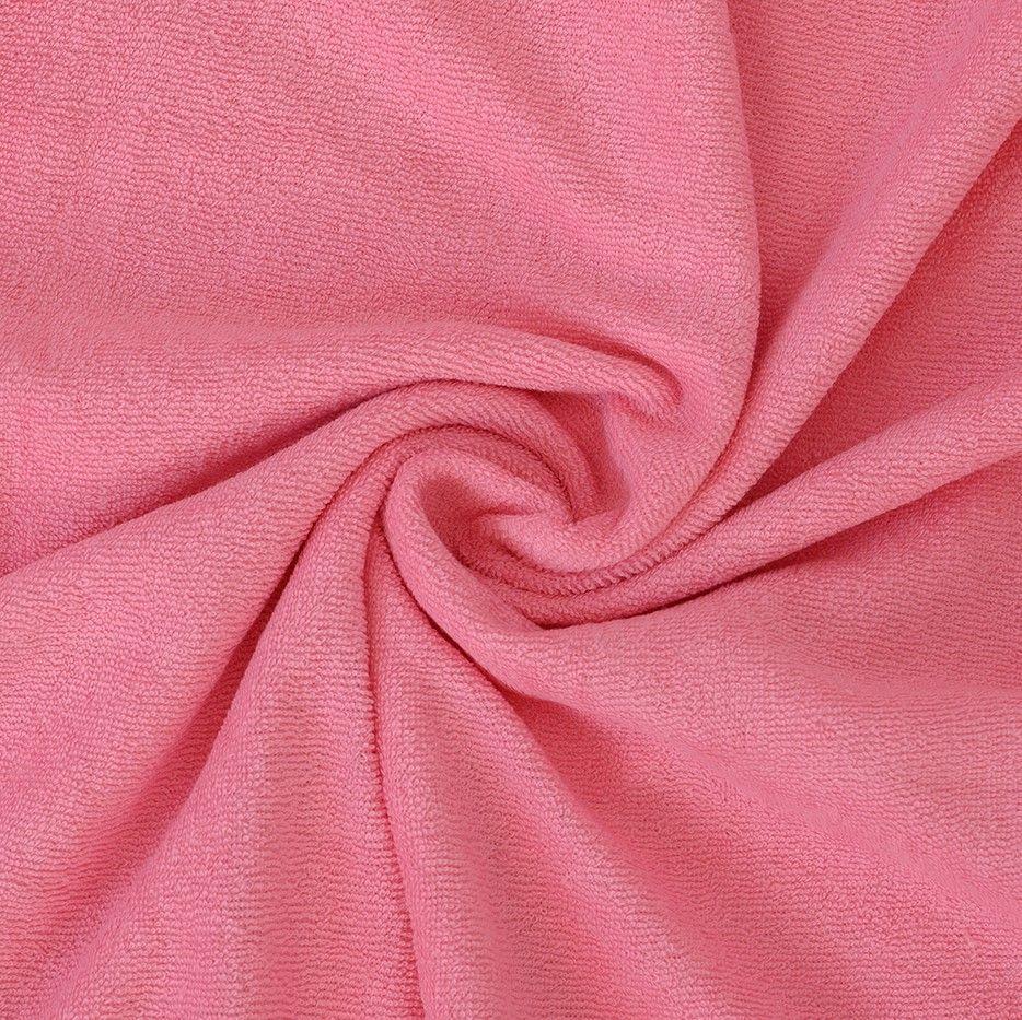 Kvalitní napínací froté prostěradlo růžové - různé rozměry Kvalitex