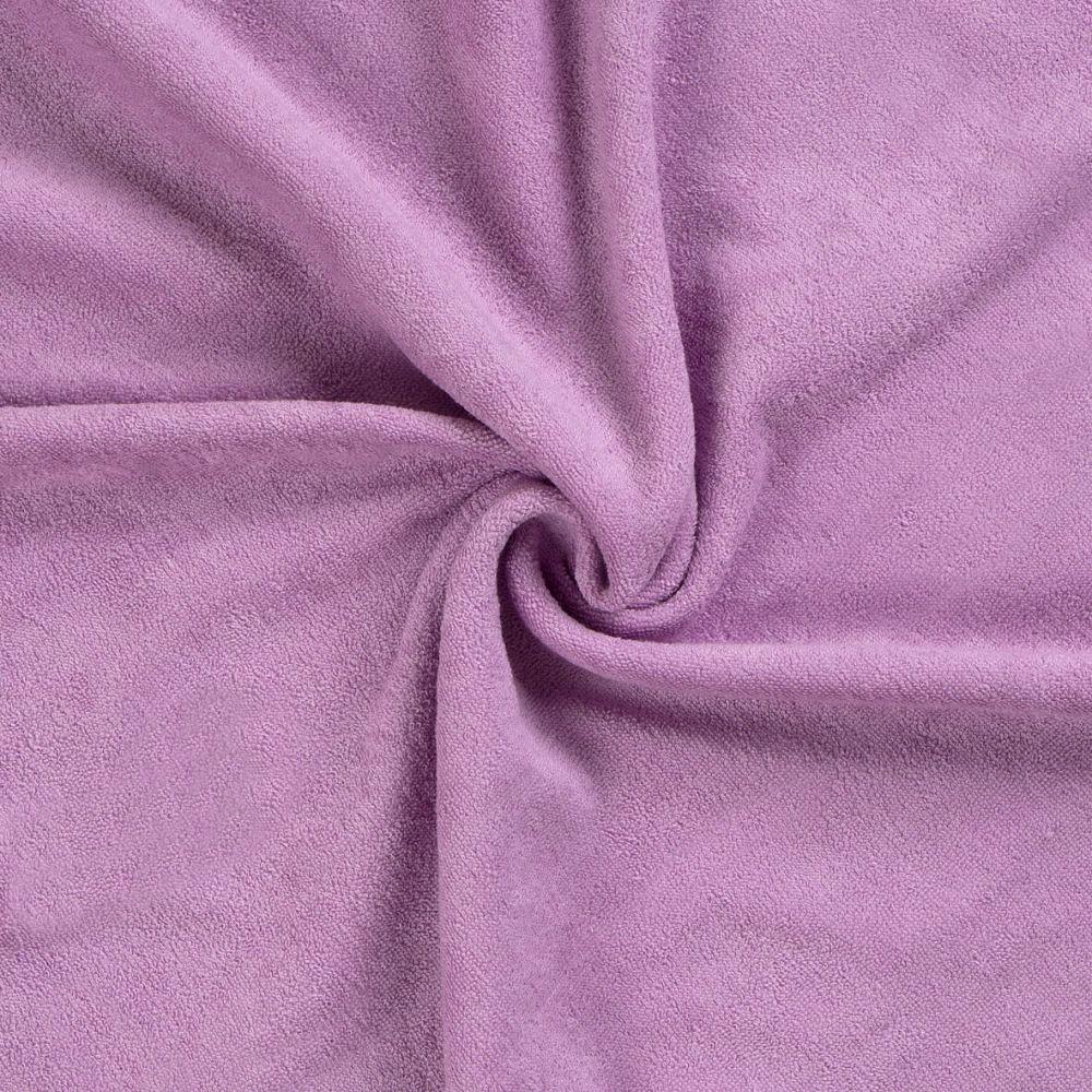 Kvalitní napínací froté prostěradlo světle fialové - různé rozměry Kvalitex