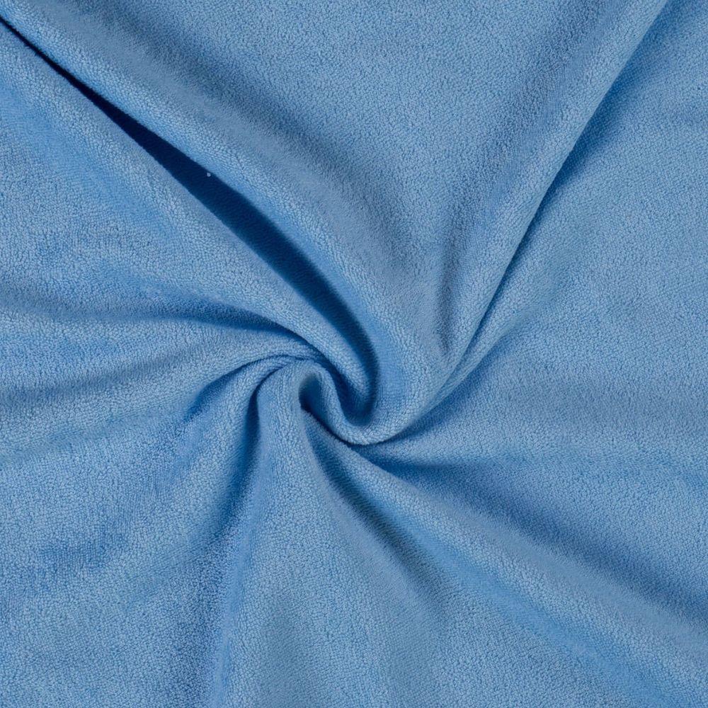 Kvalitní napínací froté prostěradlo světle modré - různé rozměry Kvalitex