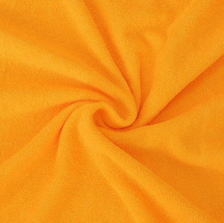 Kvalitní napínací froté prostěradlo sýtě žluté - různé rozměry Kvalitex