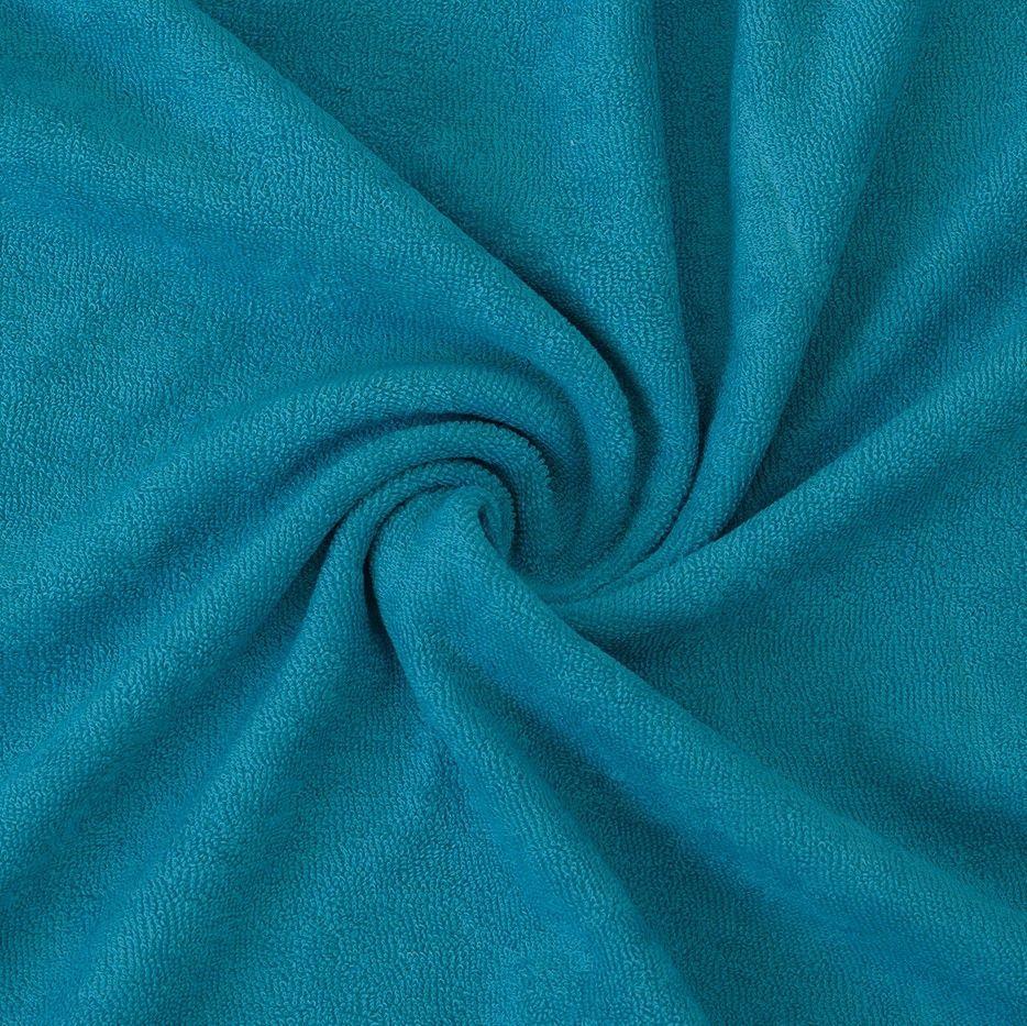 Kvalitní napínací froté prostěradlo tyrkysové - různé rozměry Kvalitex