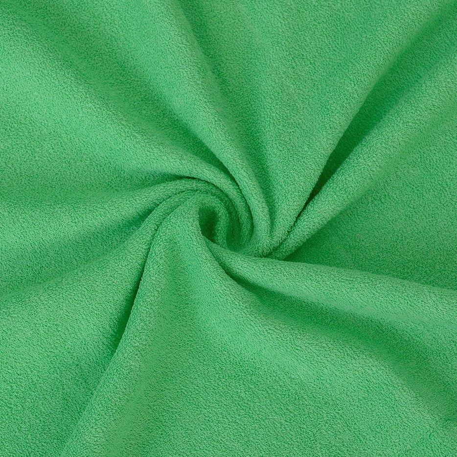 Kvalitní napínací froté prostěradlo zelené - různé rozměry Kvalitex
