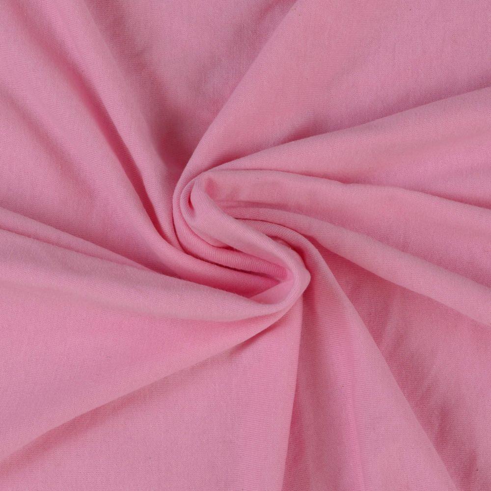 Napínací jersey prostěradlo růžové - různé rozměry Kvalitex