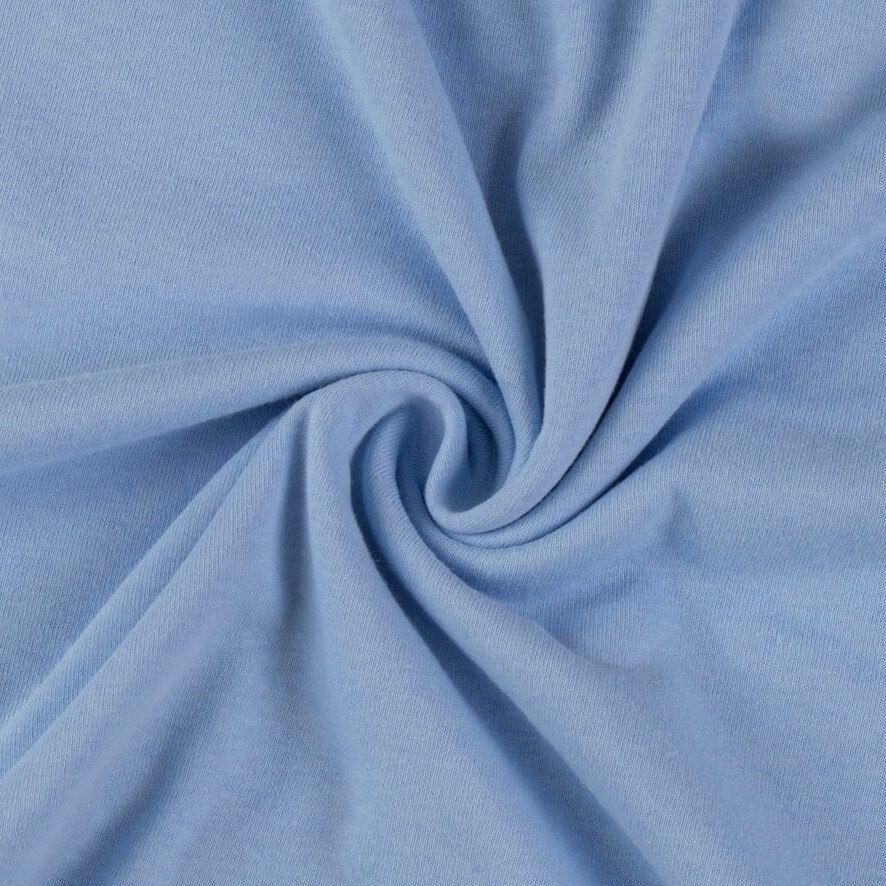 Napínací jersey prostěradlo světle modré - různé rozměry Kvalitex