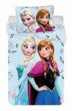 Dětské bavlněné povlečení Frozen Floral 02 | 1x 140/200, 1x 90/70