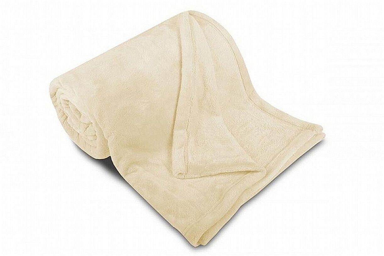 Kvalitní mikroflanelová deka v barvě měsíční třpyt Svitap