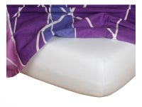 Jersey prostěradlo 180x200x18 cm bílé Nestandard   Jersey prostěradlo 180x200x18 cm bílé Nestandard