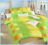 Povlečení bavlna Rolety zelené 140x200, 70x90 cm II.jakost | Povlečení bavlna Rolety zelené 140x200, 70x90 cm II.jakost